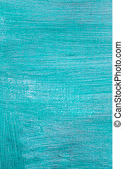 Painted blue canvas background texture.