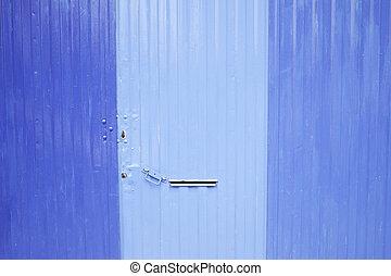 Painted Blue Door