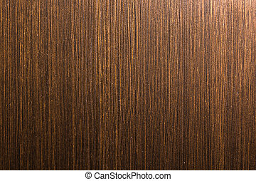 Painted brown wooden surface