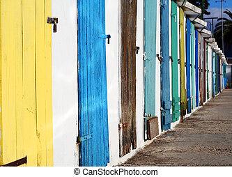 doors - painted doors