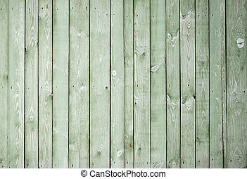 painted green background