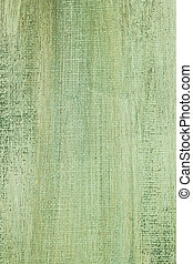 Painted green canvas background texture.