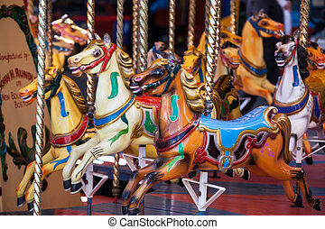 Painted horse - Merry go round horses