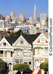 Painted ladies San Francisco - The Painted Ladies of San...
