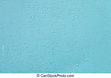 Painted blue metal as an abstract background.