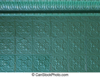 painted tin ceiling tiles