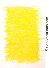 painted yellow background
