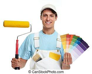 Painter man.