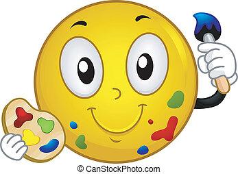 Painter Smiley
