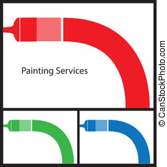 Painters Business Card