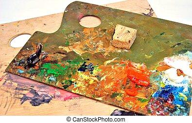 Painter\'s palette
