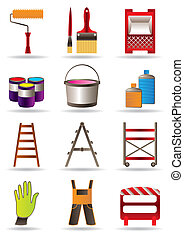 Painting and construction tools