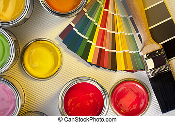 Painting and Decorating - Interior Design - Selection of...