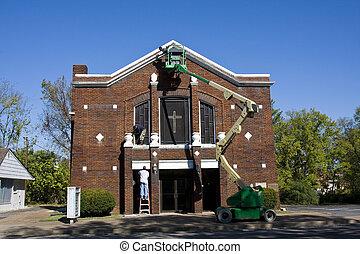 Painting Church