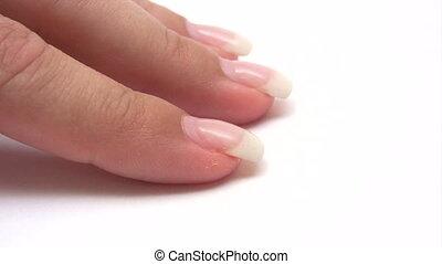 Painting Fingernails - Canon HV30. HD 16:9 1920 x 1080 @...