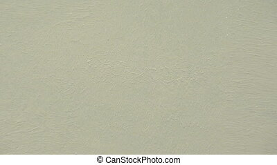 Painting the wall with white paint, construction and...