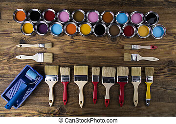 Painting tools and accessories