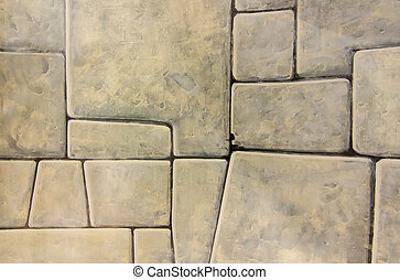 Painting with a brick