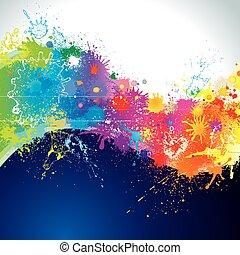 Paints wave
