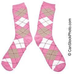 Pair of Argyle Socks