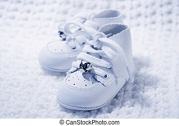 Pair Of Baby Shoes 2 - Pair of Babies first shoes
