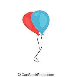 Pair of balloons icon