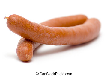 Pair of Boiled Sausages