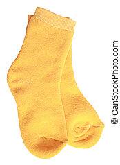 Pair of child's socks