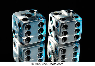 Pair of Clear Dice