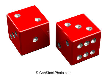 Pair of dice - Five