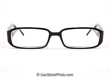 Glasses - Pair of Glasses on a white background.