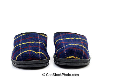 Pair of house slippers