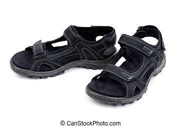 pair of mens sandals