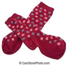Pair of Red Socks