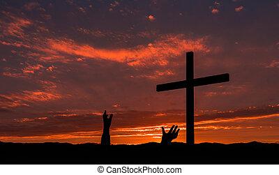 Pair of Salvation Hands