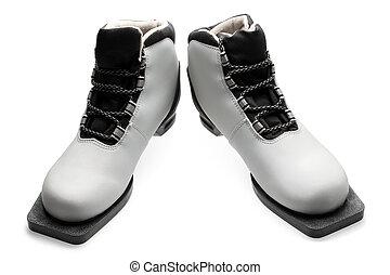 Pair of ski boots