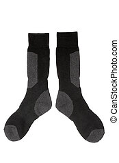 Pair of socks isolated