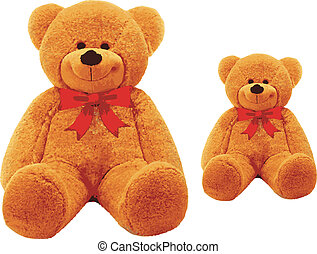 pair of teddy bear