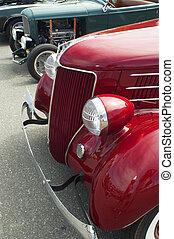 Pair of Vintage Cars