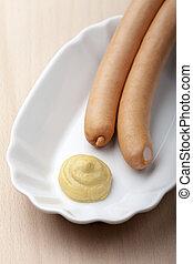 pair of wiener sausages