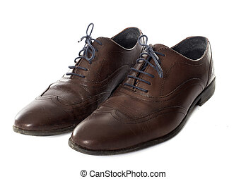 paire of man shoes