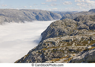 paisagem., area., route., norueguês, fjord, aventura,...