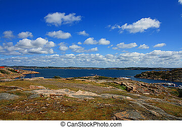 paisagem, escandinavo