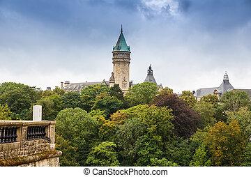 paisagem, luxemburgo