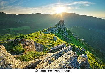 paisagem montanha