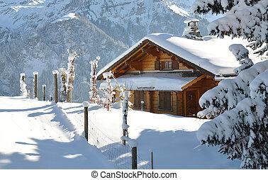 paisaje, alpino