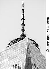 paisaje, c, centro, -, nuevo, comercio, york, 26:, mundo,...