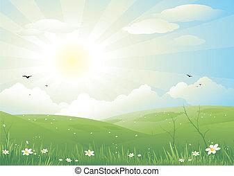 paisaje de la naturaleza