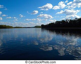 paisaje de río