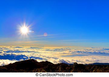 paisaje, el, montaña